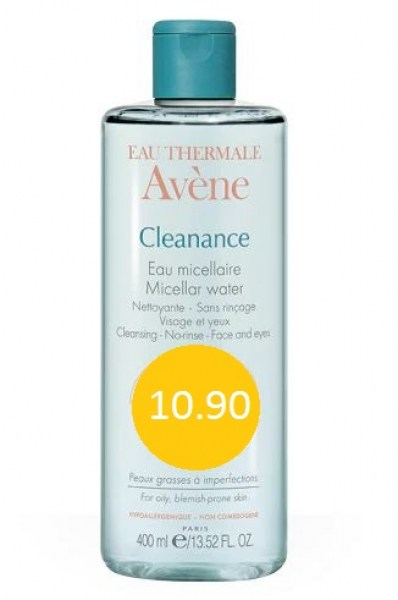 AVENE CLEANANCE AGUA 400 ML